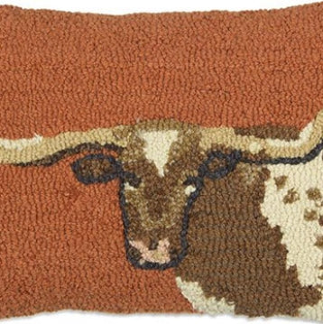 Longhorn Pillow - Large