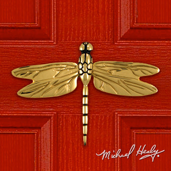 Handcrafted Dragonfly Doorknocker