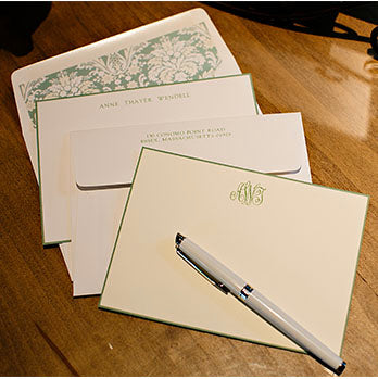 Traditional Stationary for a New Home