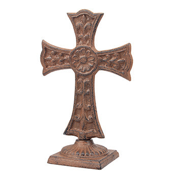 Rustic Bronze Cross