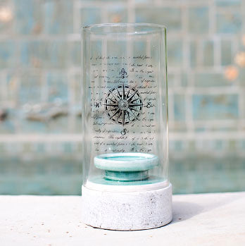 Compass Hurricane Lamp