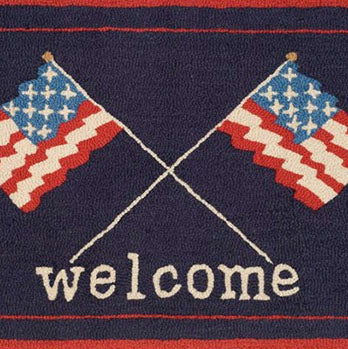 Welcome Flags Doormat