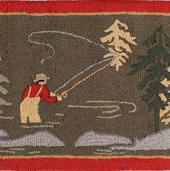 Fly Fisherman Doormat