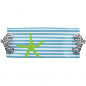 Stripe Starfish Tray