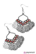 Load image into Gallery viewer, Paparazzi ♥ Desert Gypsy - Red ♥ Earrings