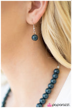 Load image into Gallery viewer, Paparazzi ♥ Not Your Mamas Pearls -Blue ♥  Necklace
