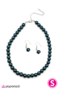 Paparazzi ♥ Not Your Mamas Pearls -Blue ♥  Necklace