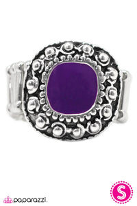 Paparazzi ♥ Hold Your Horses - Purple ♥  Ring