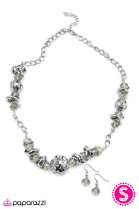 Paparazzi ♥ Rant and Rave - White ♥ Necklace