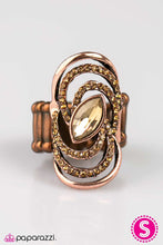 Load image into Gallery viewer, Paparazzi ♥ Bewitching Beauty - Copper ♥ Ring