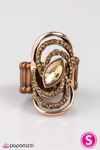 Paparazzi ♥ Bewitching Beauty - Copper ♥ Ring