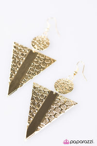 Paparazzi ♥ Dont TRI This At Home ♥ Earrings