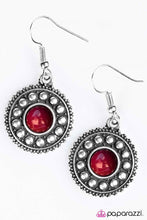 Load image into Gallery viewer, Paparazzi ♥ Under the Desert Sun - Red ♥ Earrings