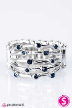 Load image into Gallery viewer, Paparazzi ♥ Sporadic Sparkle - Blue ♥ Ring