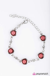 Paparazzi ♥ Glass Houses - Pink ♥ Bracelet
