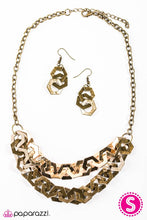 Load image into Gallery viewer, Paparazzi ♥ HEXcellent! - Brass ♥ Necklace