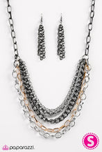 Load image into Gallery viewer, Paparazzi ♥ Calm Before The Storm - Black ♥ Necklace
