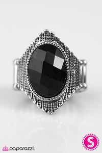 Paparazzi ♥ High Voltage - Black ♥ Ring