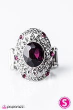 Load image into Gallery viewer, Paparazzi ♥ Boss Babe - Purple ♥ Ring