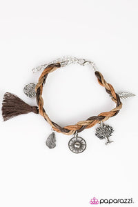 Paparazzi ♥ Outdoor Enthusiast - Brown ♥ Bracelet