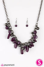 Load image into Gallery viewer, Paparazzi ♥ Mardi Gras Gala - Purple ♥ Necklace