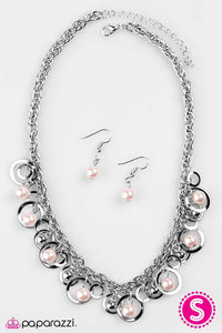 Paparazzi ♥ Galaxy Gala - Pink ♥ Necklace