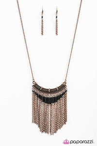 Paparazzi ♥ Down In The Valley - Copper ♥ Necklace