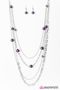 Paparazzi ♥ Lets Celebrate! - Purple ♥ Necklace
