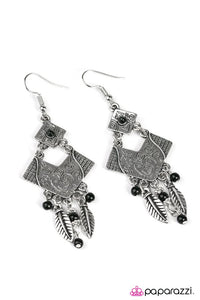 Paparazzi ♥ Soul Music - Black ♥ Earrings