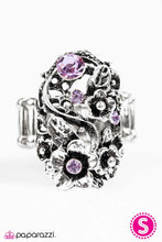 Load image into Gallery viewer, Paparazzi ♥ Toss The Bouquet - Purple ♥ Ring