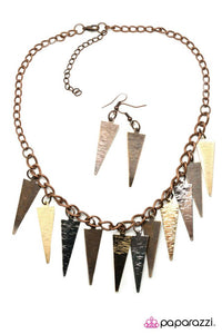 Paparazzi ♥ Spike it Rich ♥ Necklace