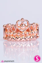 Load image into Gallery viewer, Paparazzi ♥ Crown of Hearts - Copper ♥ Ring