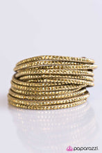 Load image into Gallery viewer, Paparazzi ♥ Do The Hustle - Brass ♥ Bracelet