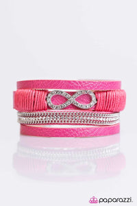 Paparazzi ♥ Happily FOREVER After - Pink ♥ Bracelet