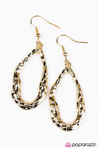 Paparazzi ♥ Call Me Asymmetrical ♥ Earrings