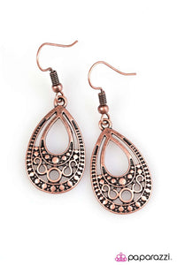 Paparazzi ♥ Desert Rain ♥ Earrings
