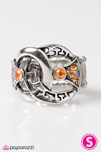 Paparazzi ♥ Join Up - Orange ♥ Ring