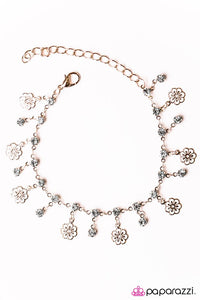 Paparazzi ♥ Hibiscus Breeze - Rose Gold ♥ Bracelet