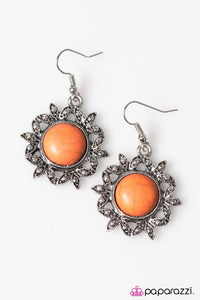 Paparazzi ♥ Earth Day - Orange ♥ Earrings