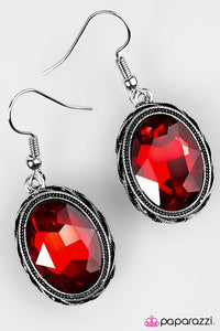 Paparazzi ♥ You Have Bewitched Me - Red ♥ Earrings