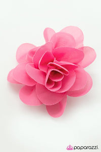 Paparazzi ♥ Hawaiian Escape - Pink ♥ Hair Clip