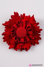 Load image into Gallery viewer, Paparazzi ♥ Cowboy Take Me Away - Red ♥ Hair Clip