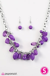 Paparazzi ♥ Ocean Sunset - Purple ♥ Necklace
