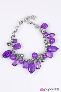Paparazzi ♥ Coral Sea - Purple ♥ Bracelet