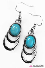 Load image into Gallery viewer, Paparazzi ♥ Break New Ground - Blue ♥ Earrings