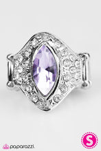 Load image into Gallery viewer, Paparazzi ♥ Boss Up! - Purple ♥ Ring