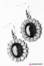 Load image into Gallery viewer, Paparazzi ♥ Wouldnt It Be ICE? - Black ♥ Earrings