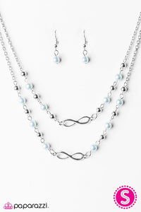 Paparazzi ♥ Chance Of A Lifetime - Blue ♥ Necklace
