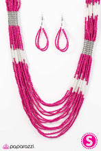 Load image into Gallery viewer, Paparazzi ♥ Let It BEAD - Pink ♥  Necklace