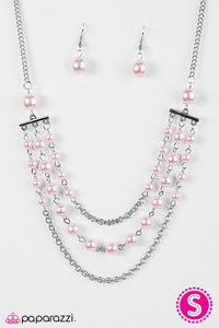 Paparazzi ♥ Dressed For Success - Pink ♥ Necklace